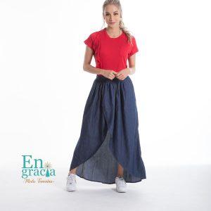 135b036156 Falda Marinela - Engracia Moda
