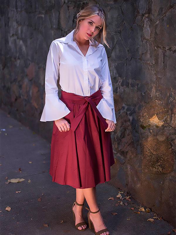 blusas para dama casual
