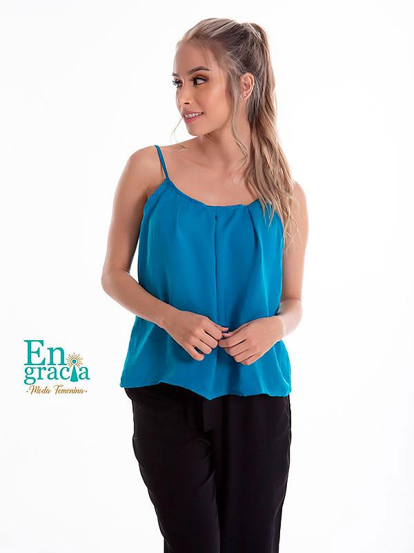 blusas de moda 2020 azul