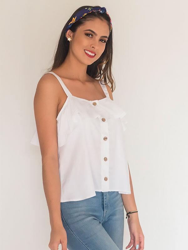 Blusa de moda casual colombia