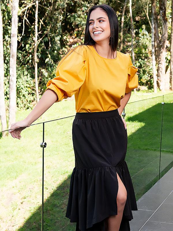 blusas de mujer amarillas