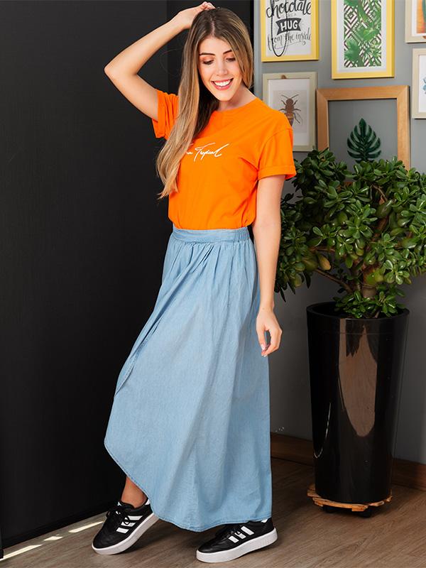 Falda cusual
