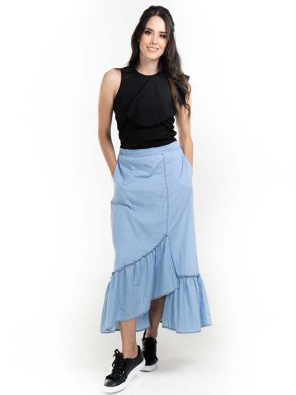 Falda casual