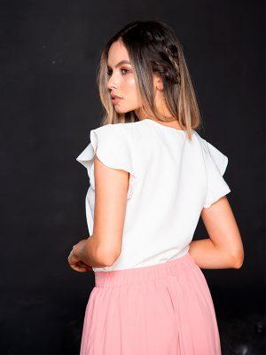 Blusa casual blanca