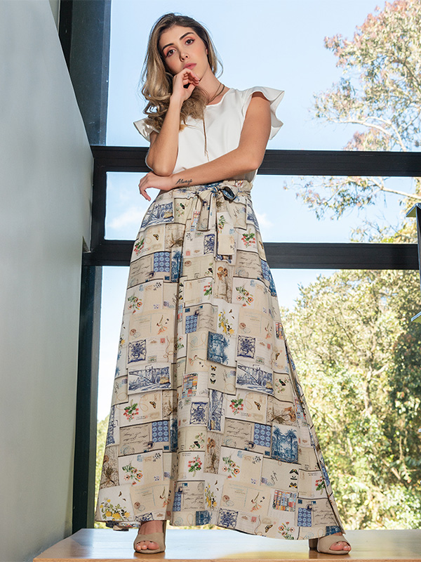 Falda a la moda