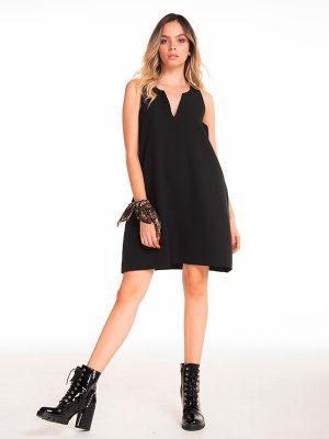 vestido negro de moda