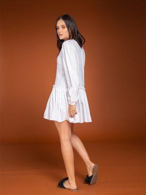 Vestido Abril Blanco