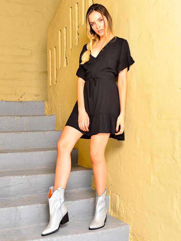vestidos elegantes negros