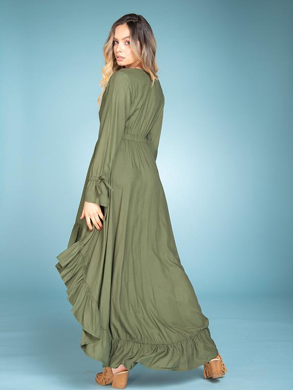 Vestido Naomi Verde