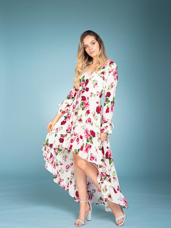 Vestido Naomi Flores