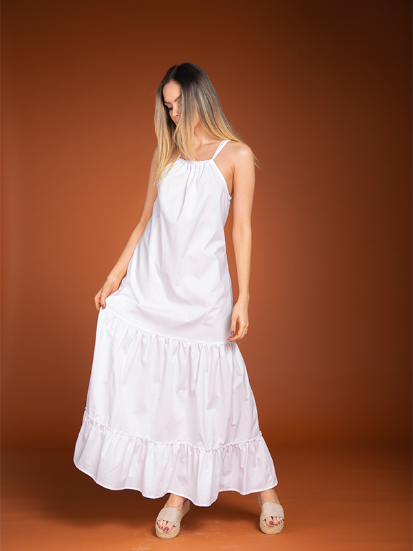 Vestido Blanco Corina